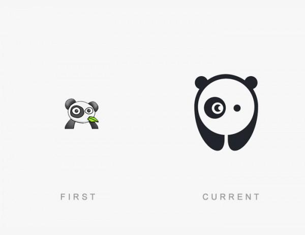 50 логотипов всемирно известных брендов тогда и сейчас