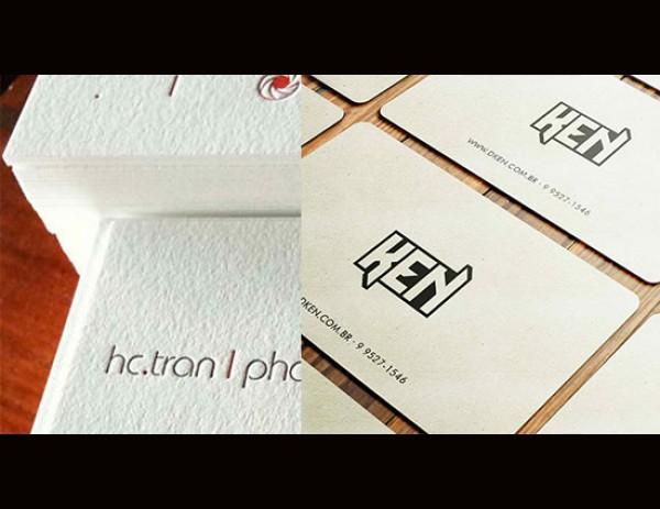 40 отличных примеров визитных карточек в минималистическом стиле