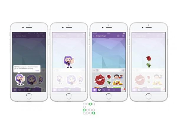 Viber-ը թույլ կտա օգտատերերին ստեղծել սթիքերներ