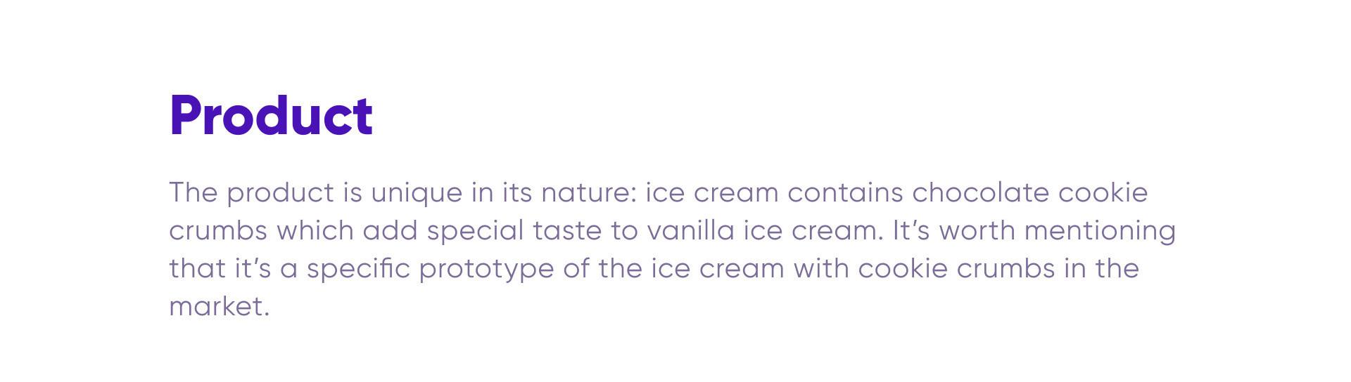 Bklik Ice cream
